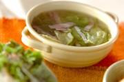 レタスの塩スープ