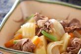 シンプル肉ジャガ風煮物