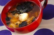 焼き餅入りキムチスープ