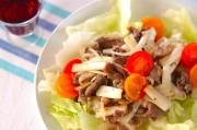 牛肉とウドのサラダ