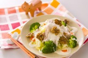 豚肉の温サラダ