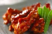 手羽元の焼き肉ダレ煮