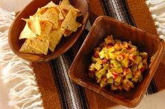 アボカドとタコのメキシカンサラダ
