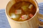 キャベツとカマボコのスープ