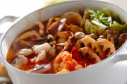 海鮮鍋~トマト鍋~チーズニョッキ