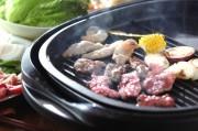 サルサソースの焼き肉