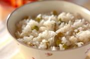豆とジャコ入りご飯