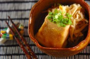 高野豆腐と切干し大根の揚げ煮