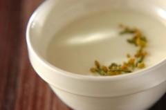 玄米茶のムース