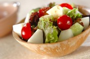 シャキシャキ梨のゴマ風味サラダ