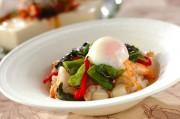 魚介のバジル炒めライス