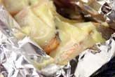 鮭のマヨホイル焼き