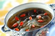 春雨入りのりスープ