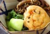 がんもと青菜の煮物