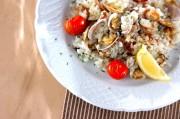 アサリとトマトの焼き飯