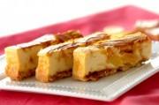 パイナップルのキャラメルお豆腐チーズケーキ
