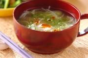 ビーフンの中華スープ