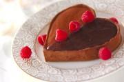 フランボワーズチョコタルト