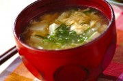 豆腐入りとろとろ卵汁