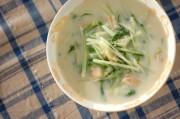 水菜のクリーム煮