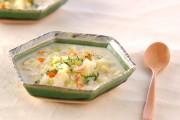 ジャガイモの豆乳スープ