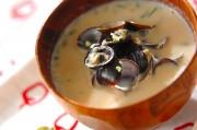 シジミの豆乳汁