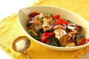 豆腐と豚肉のカレー炒め