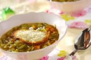 春キャベツを使ったピストスープ