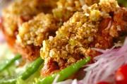 揚げ鶏のネギソース(油淋鶏風)