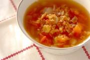酸味がたまらない!トマトのコンソメスープ