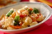 プリプリエビと豆腐のまろやかうま煮
