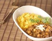 豆のベジタリアンカレー