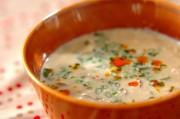 中華風豆乳スープ