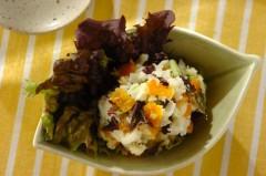 長芋とつぼ漬のポテトサラダ風