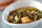 ホウレン草とホタテの炒め煮