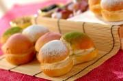 ひなまつりの春色パン
