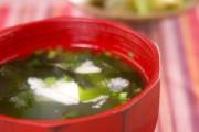 たたき長芋のスープ