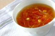 大根とニンジンのコンソメスープ