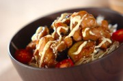 鶏肉の照り焼きユズマヨ丼