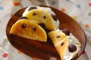 パンダのオムレツケーキ