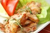 鶏肉のハーブソテー