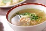 ツナ大根スープ