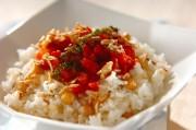 炒り米とヒヨコ豆のピラフ