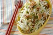 白菜とリンゴのサラダ マスタードドレッシング