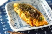 塩納豆チーズオムレツ