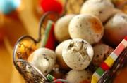 卵と白玉粉で作る黒ゴマのポンデケージョ