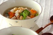 大豆たっぷりスープ煮