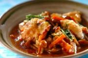 鶏むね肉とナメコのさっぱりおろし煮