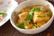 栄養満点!じゅわっと高野豆腐の卵とじ