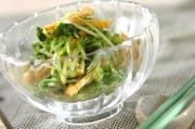 シャキシャキ水菜のゴマ和え